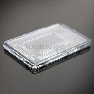 Transparent fridge magnets