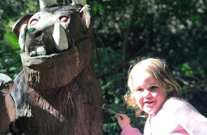 The Gruffalo at Culzean Castle
